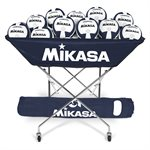 Mikasa collapsible hammock ball cart, navy