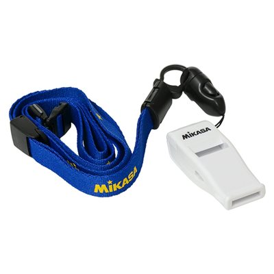Professionnal FIVB whistle w / lanyard, white
