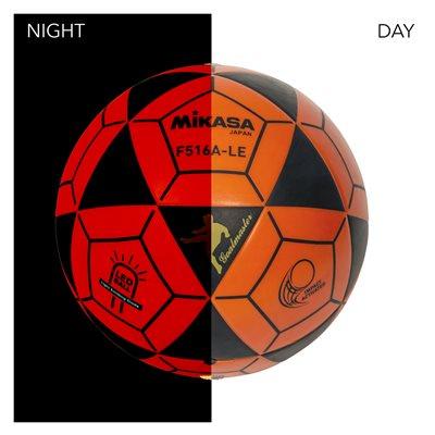 Ballon de soccer lumineux