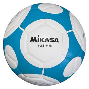 MIKASA INDOOR SOCCER BALL, #2, BLUE / WHITE