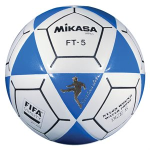 Official footvolley ball, #5, blue / white