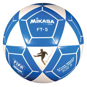 Official footvolley ball, #5, white / blue