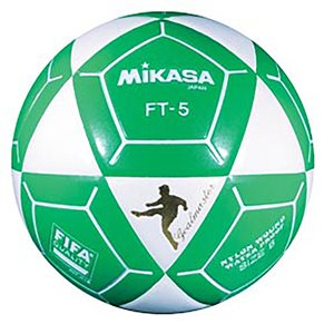 Official footvolley ball, #5, white / green