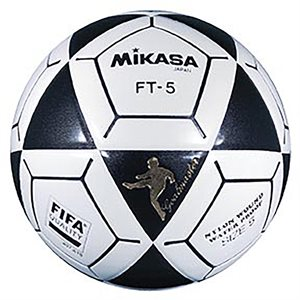 Official footvolley ball, #5, black / white