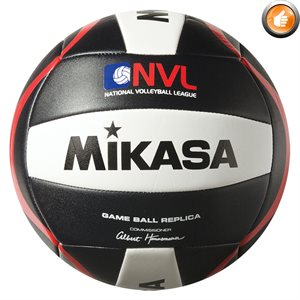 Réplique du ballon officiel NVL, noir / blanc