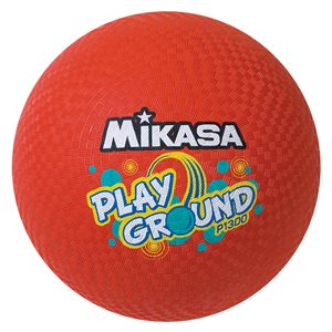 Big Mikasa playground ball, red