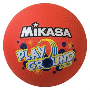 Giant Mikasa playground ball, red