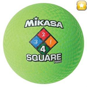Ballon de jeu Four Square, vert fluo