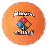 Ballon de jeu Four Square, orange