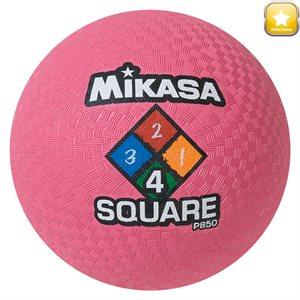 Ballon de jeu Four Square, rose