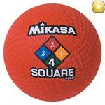 Ballon de jeu Four Square, rouge