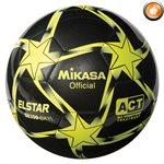 Ballon de soccer Elstar noir, jaune & lime