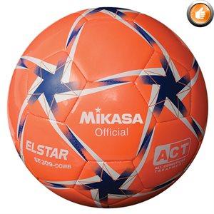 Ballon de soccer Elstar orange, bleu & blanc