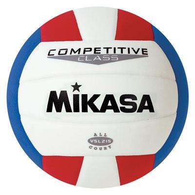 Ballon Mikasa int. / ext.,rouge / blanc / bleu