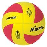 Ballon de volleyball de plage Squish®, jaune / rouge