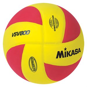 Squish® beach volleyball, yellow / red