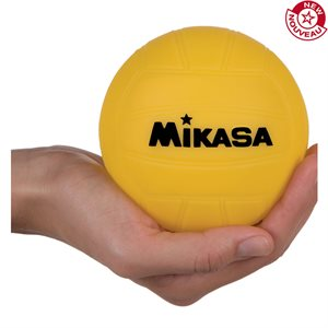 Promotional water polo ball, 4'', yellow